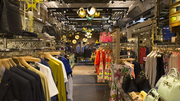 British luxury retail clothing company Ted Baker uses 'Sales Floor' Lighting from Philips