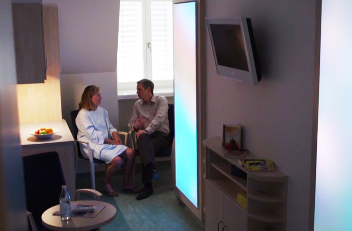 Enhancing the healing environment in the German Heart Center Berlin using Philips Healwell lighting systems