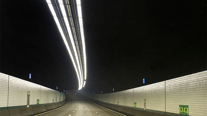 Optimize lighting and safety with a tunnel lighting system built specifically for LED lighting technology