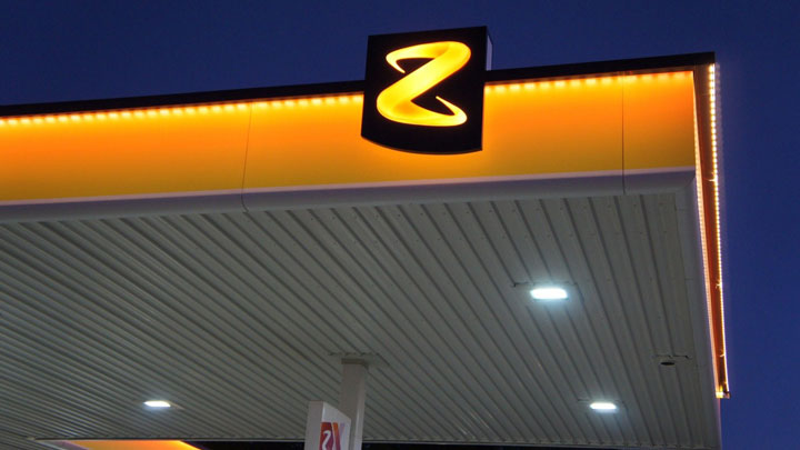 Z Energy, Pukekohe Petrol Station, Auckland, New Zealand