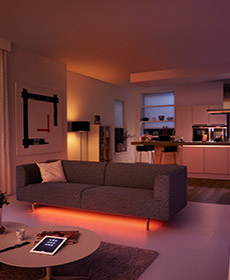 Philips Hue for home lighting